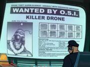 Killer Drone Screen Arrears in science