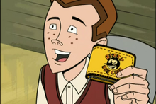 Dean with Bizzy Bee wallet