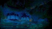 Darkened Morpho Cave