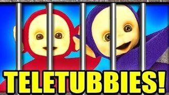 TELETUBBIES IN JAIL!? -- Gmod COPS N ROBBERS Mod! 9 (Garry's Mod)