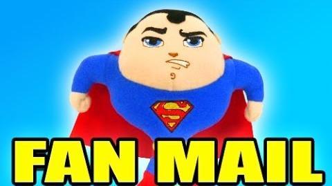 SUPERMAN PLUSH! -VENTURIANMAIL VLOG Ep.14
