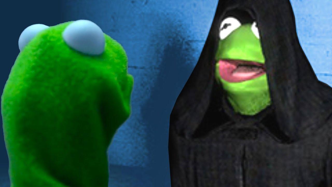 Best of Evil KERMIT The Frog part 1 - Dank Memes ...  |Darth Kermit Meme Lifting