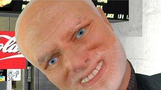 Gmod HIDE THE PAIN HAROLD Funny Meme Mod