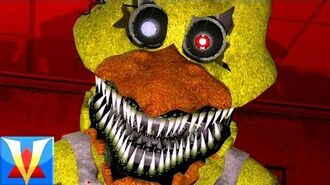 HOMELESS OLD CHICA!! - Gmod Five Nights At Freddy's Nightmare Chica (Garry's Mod)