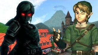 LINK'S SHADOW - Legend of Zelda Funny Animation Roleplay