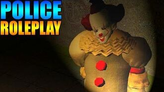 PENNYWISE GOES TO JAIL!! - Gmod POLICE RP Mod 5