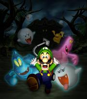 Luigi Mansion promo artwork