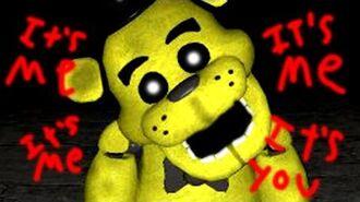 Gmod GOLDEN FREDDY Playermodel Five Nights At Freddy's Mod (Garry's Mod)