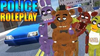 ANIMATRONIC CRIMINALS! Gmod POLICE RP Mod 4 (Five Nights At Freddy's)