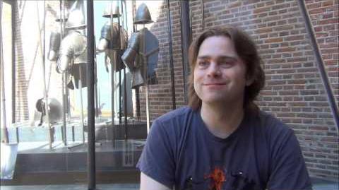 Dirk Bontes interviewt Gerard van de Akker voor Fantastels 2013