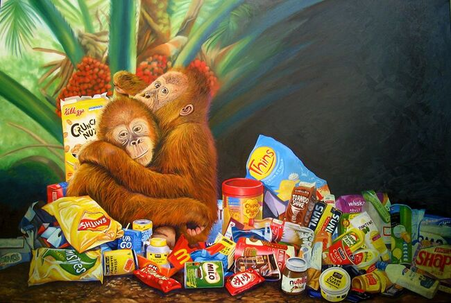 Palm oil and pollution