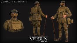 Verdun character canadian 1916