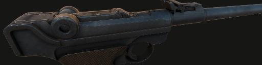 Lange Pistole Parabellum 1908 Artillerie-Luger
