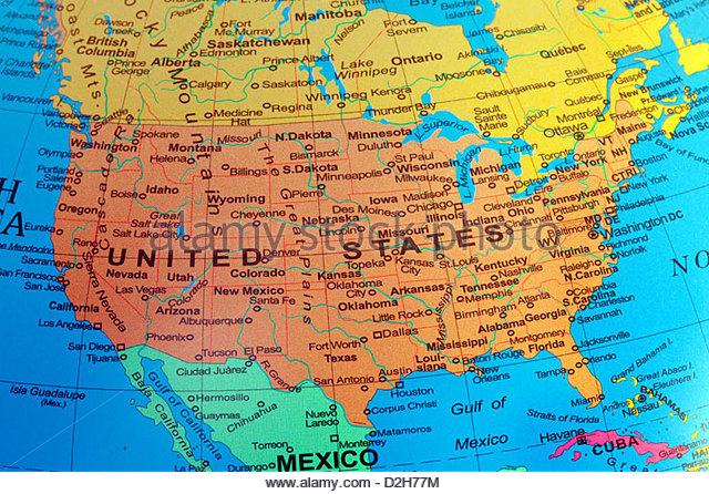 Image - A-usa-map-of-the-united-states-of-america-from-a-globe ...