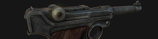 Pistole Parabellum 1908 Luger