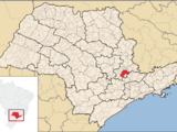Campinas no mapa