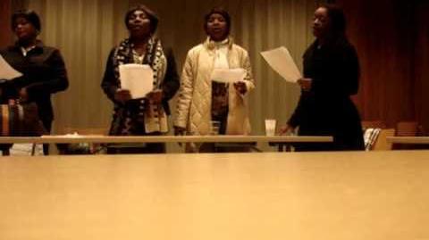 La Chorale Africaine de la Sainte Famille de Zurich