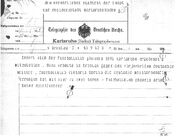 Phoenix karlsruhe telegramm 1909