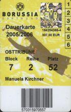 Bvb dauerkarte 2005 2006