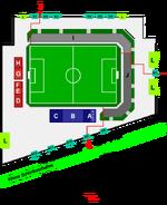 SV Viktoria Aschaffenburg Stadion Skizze