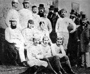 Fußball 1. Fußballverein Sheffield FC 1857