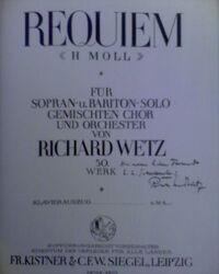 Requiem Wetz