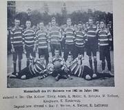 FC Holstein von 1902 im Jahre 1904
