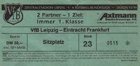 Vfb vs E Frankfurt