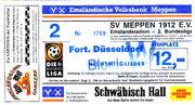 SV Meppen vs F.Düsseldorf