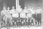 Fußball 1. Fußballverein Sheffield FC 1901