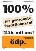 2002 100 Prozent für geordnete Stadtfinanzen