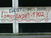 Sturm-GAK-Rivalität Graffiti UPC-Arena