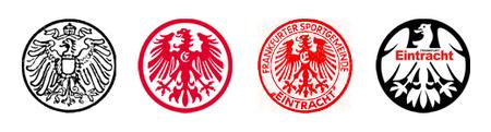 Alte Logos (1 - 4) Eintracht Frankfurt