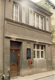 Prager-Haus Straßenansicht