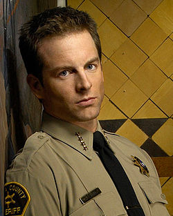 Image result for veronica mars sheriff lamb