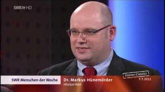 Markus Hünemörder über Verschwörungstheorien - SWR