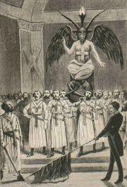 Masons baphomet