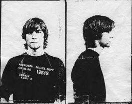 Kurt Cobain mugshot (May 25, 1986)
