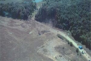 UA93 crash site noborder