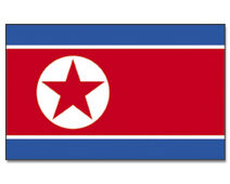 Flagge-Nordkorea