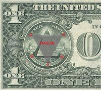 Masonic code U.S. dollar