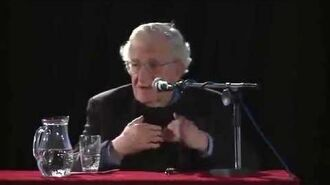 Chomsky explaining real anarchism