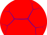 Order-3 pseudogonal tiling