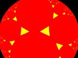 Truncated order-3 pseudogonal tiling