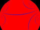 Imaginary-order pseudogonal tiling