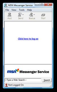 MSN Messenger 2.1.1047