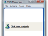 MSN Messenger 4.6.0076