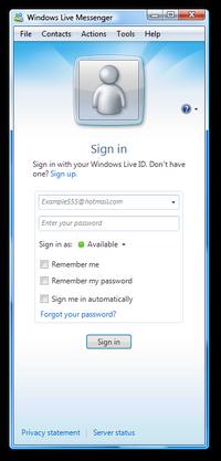 Windows Live Messenger 2009 14.0.8050.1202