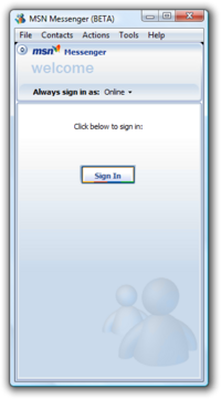 MSN Messenger 7.0.0604 Beta