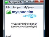 MySpaceIM with Skype 1.0.731.0 Beta